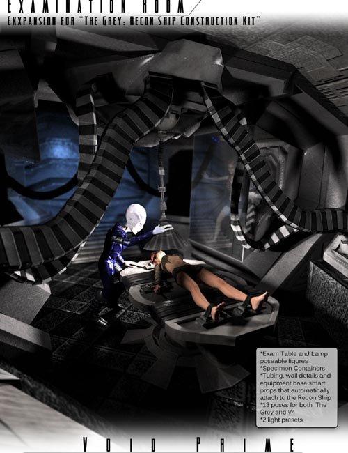 Void Prime: Grey Alien Recon Ship Construction Kit - Exam Room