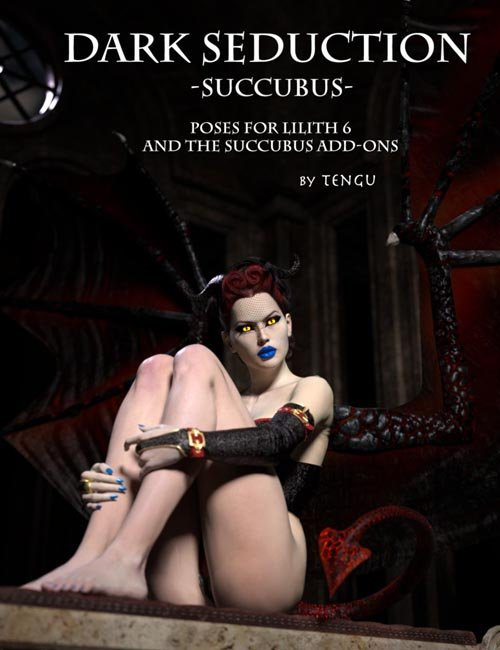 Dark Seduction - Succubus Poses