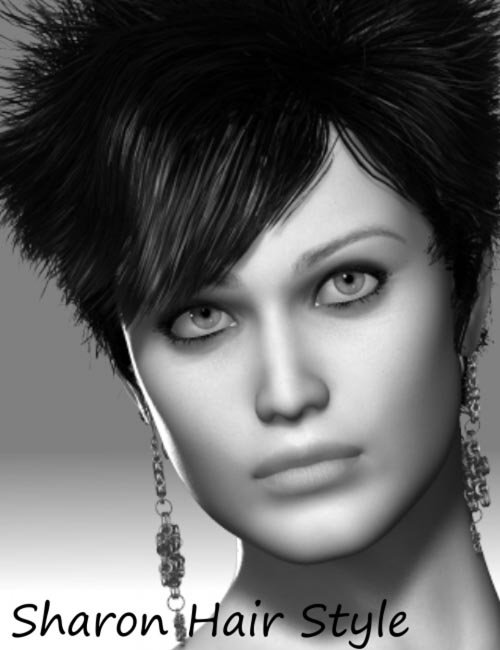 Sharon HairStyle for V4 and Genesis