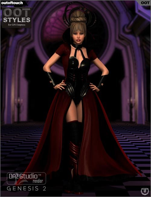 OOT Styles for GIS Empress for Genesis 2 Female(s)