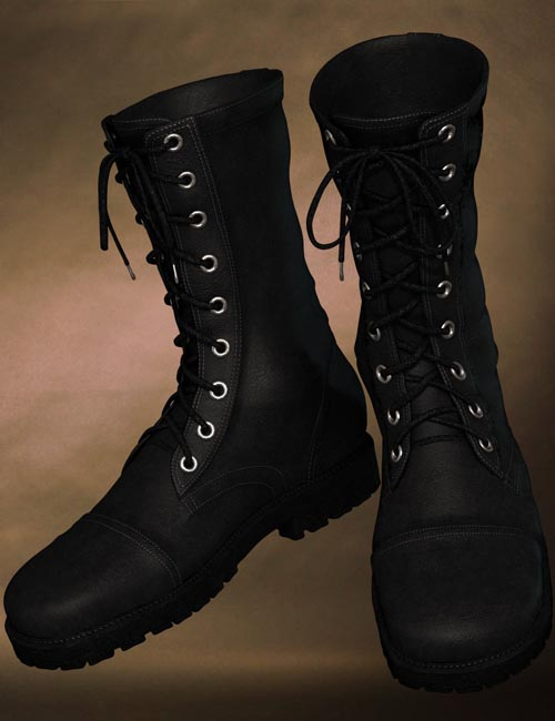 Dusk's Combat Boots