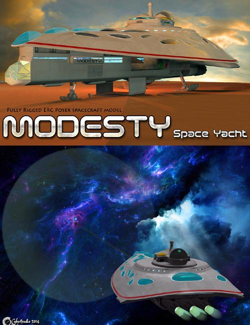 Modesty - Space Yacht