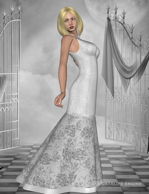 Evening Glamor for Rovescio dress