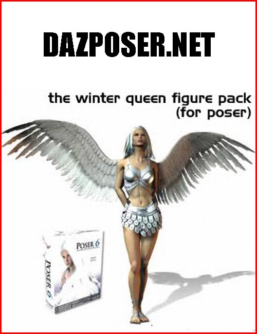 The Winter Queen Figure Pack (for Poser)