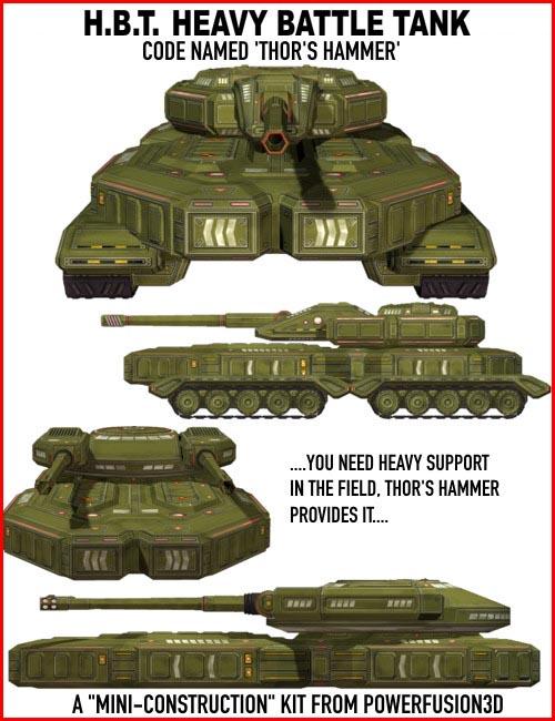 Heavy Battle Tank