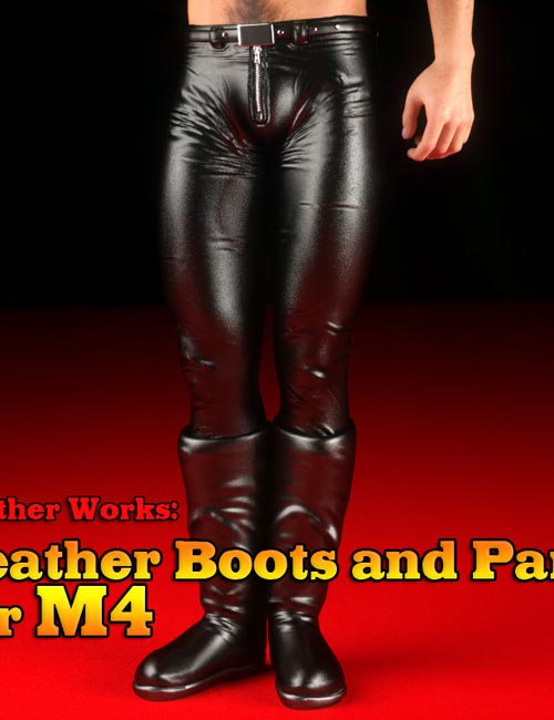 Leather Works: Leather Boots and Pants for M4