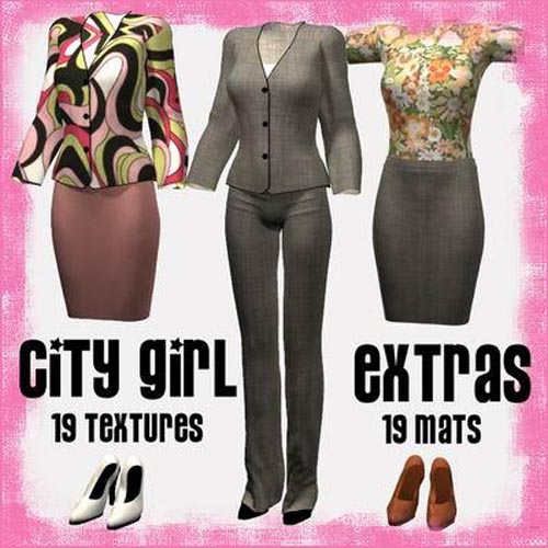 City Girl Extras for Victoria 4 City Girl