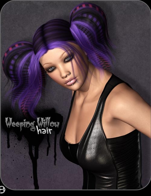 Weeping Willow Hair by outoftouch (), Bice ()