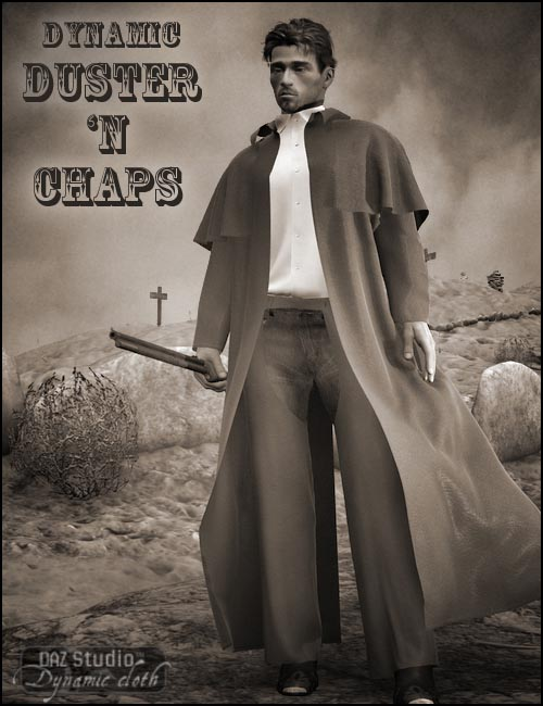 Duster and chaps (.daz)