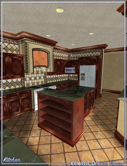 Dream home kitchen decor eclectic best daz3d poses for Dream home website