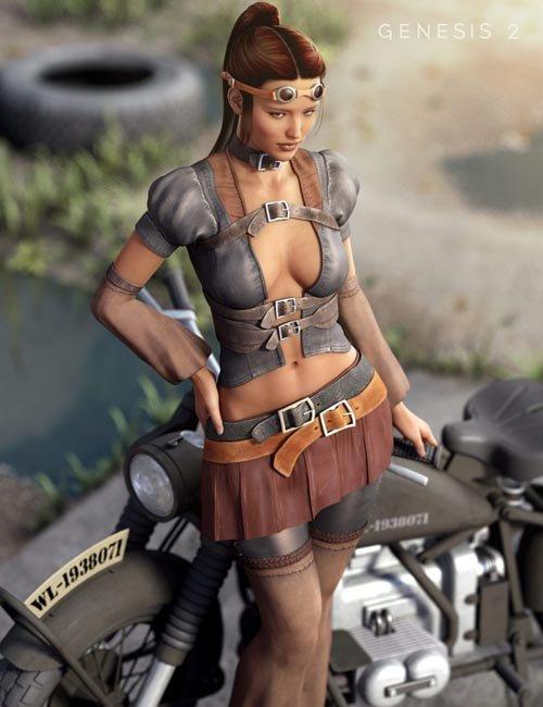 Nomad Wanderer for Genesis 2 Female(s) [ iray update ]
