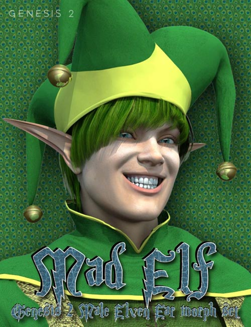 Mad Elf - Genesis 2 Male Elven Ears
