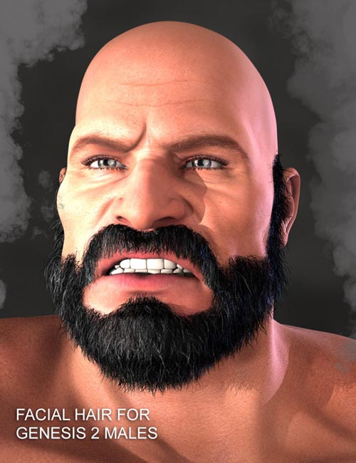 Facial Hair for Genesis 2 Male(s)