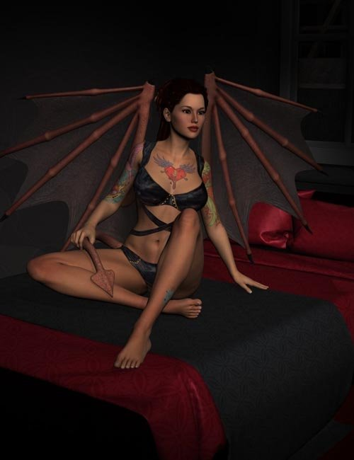 Fallen Poses for Lilith 6 and Victoria 6