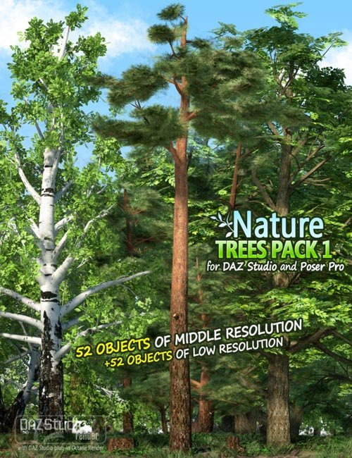 Nature - Trees Pack 1