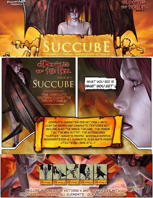 Hell Chronicles issue 1: Succube