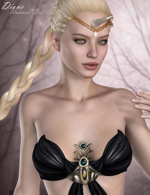 [Free] Dione Unicorn Girl HD for Victoria 6