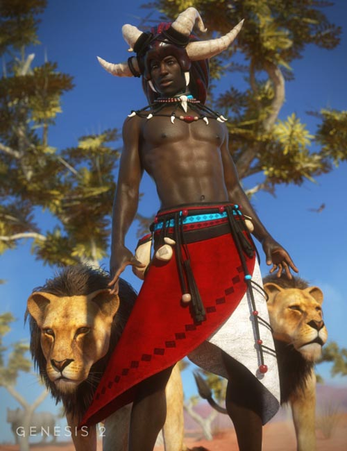 Witch Doctor for Genesis 2 Male(s)