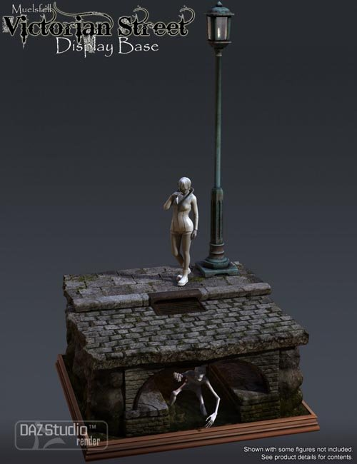 Muelsfell Victorian Street Display Base