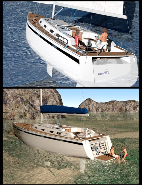 Sailing Yacht Dolphin 55
