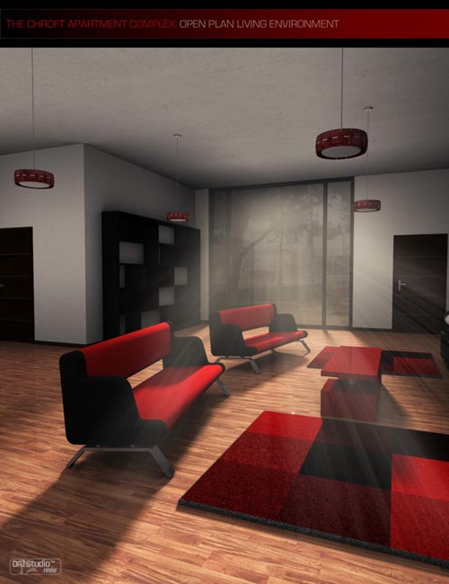Chroft Apartment Open Plan Living