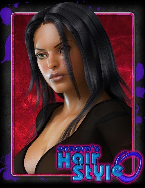Exnem's Hair Style0 for V4
