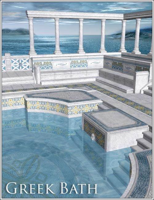 Greek Bath - Texture Set