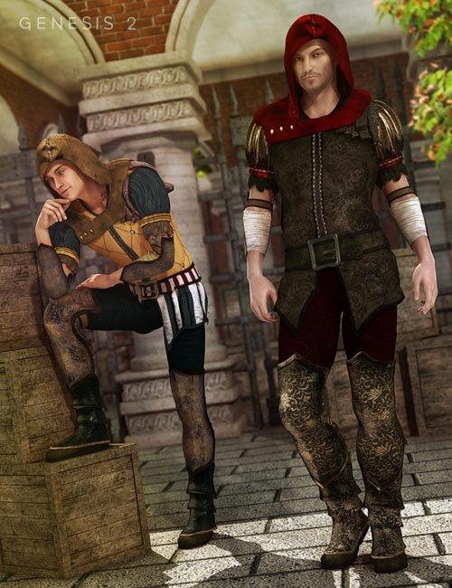Sherwood Hunter Textures