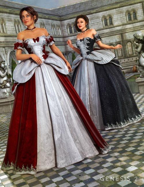 Cinderella Ball Gown Textures
