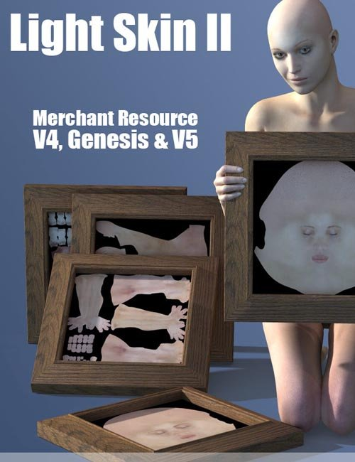 Light Skin Merchant Resource for V4/Genesis/V5
