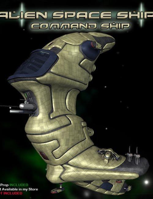 Alien Command Ship