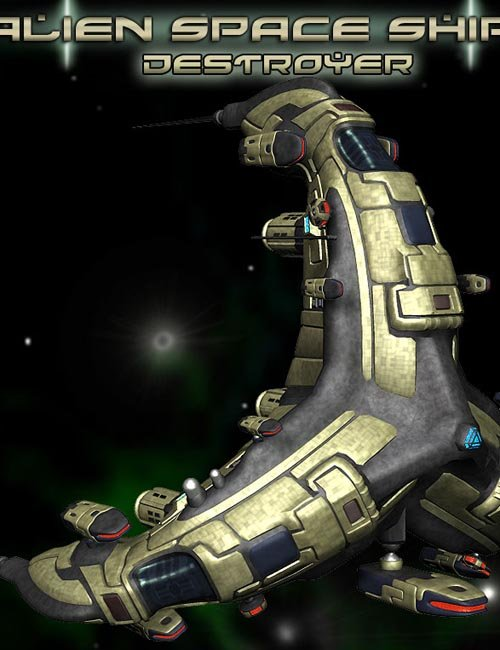 Alien Destroyer Class