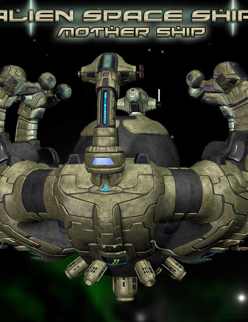Alien Mother Space Ship