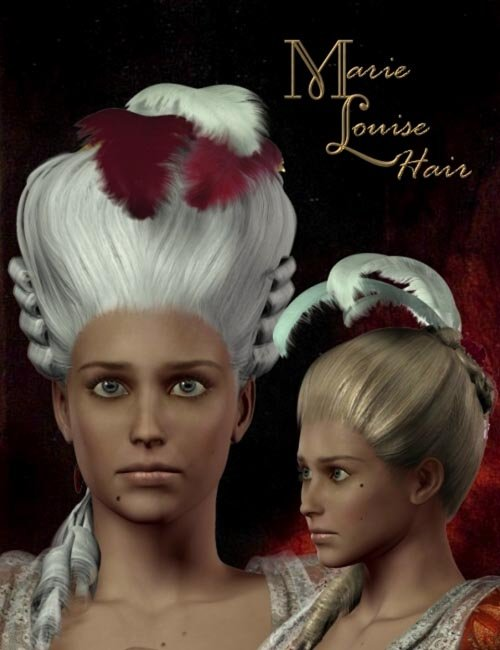 Marie Louise Hair and Wig