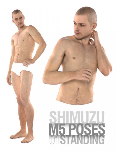M5 Poses 01 Standing