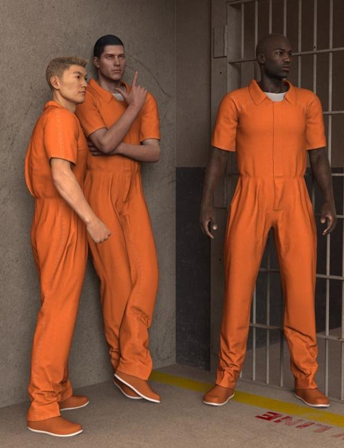 Prison Clothes for Genesis 2 Male(s)