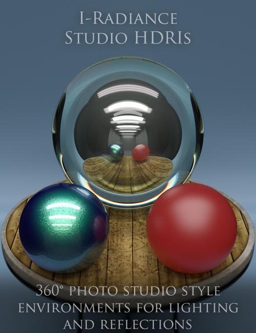 iRadiance - Studio HDRIs for Iray