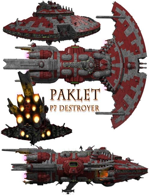 Paklet P7 Destroyer
