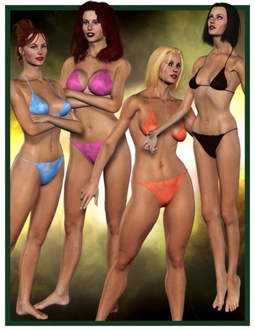 Victoria 3.0 Body Morph Pack
