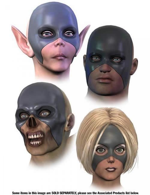 V3 Morphing Face Mask