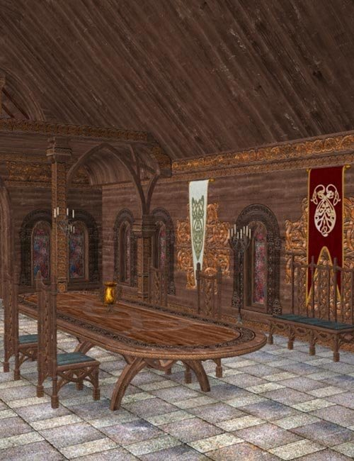 Celtic Great Hall - Interior