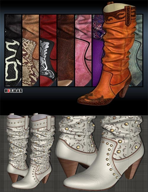 New Styles for Chic Western Boots