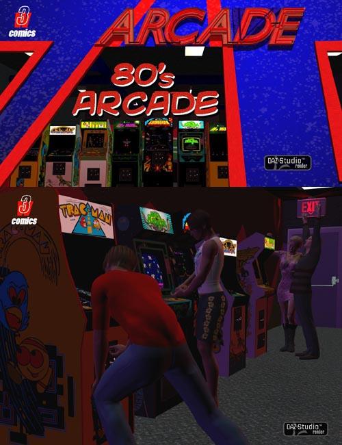 80's Arcade - DAZ Studio