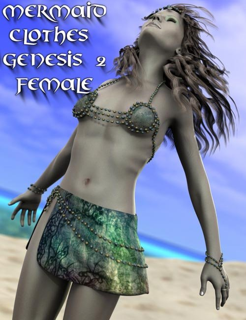Mermaid Clothes Genesis 2 Female(s)