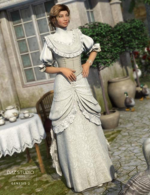 Vintage Rose for Genesis 2 Female(s) [Update iray]