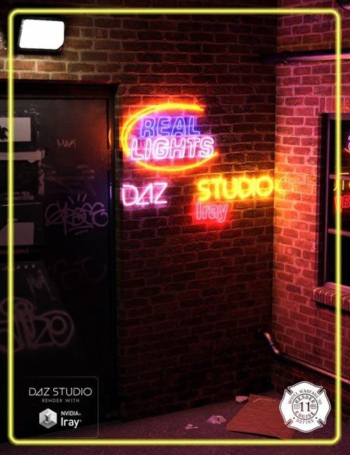 Real Lights for DAZ Studio Iray