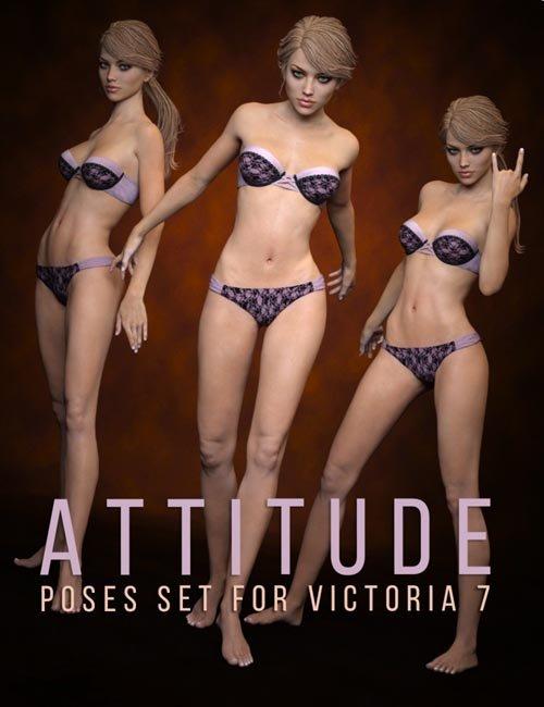 Victoria 7 Attitude Poses