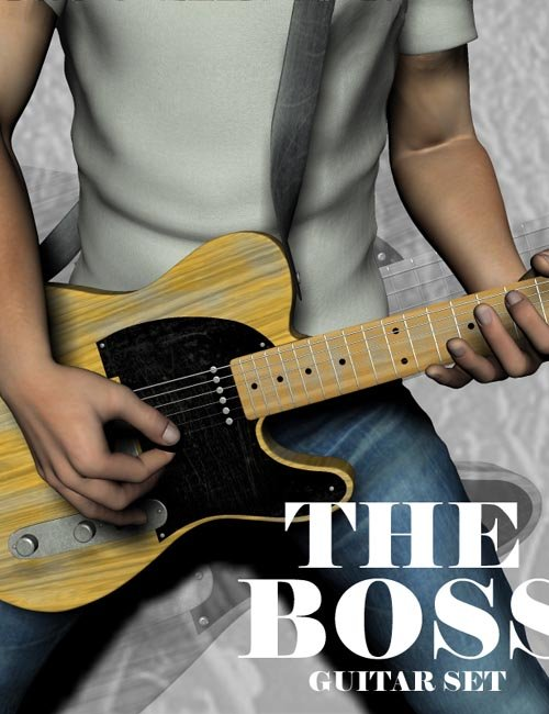 The Boss Guitar Poses