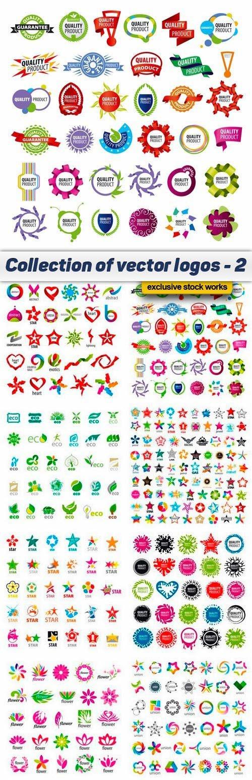Collection of vector logos - 2 - 10 EPS