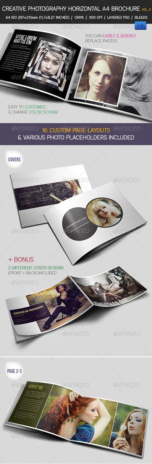 GraphicRiver - Creative Photography Portfolio A4 Brochure vol. 2